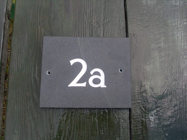 House Numbers & Signs